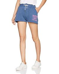 Superdry - Athl. League Loopback Sport Shorts - Lyst