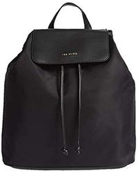 a23143269 Ted Baker Pearen Leather Backpack in Blue - Lyst