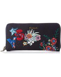 Desigual - Mone Surprise Fiona Women's Purse Wallet In Blue - Lyst