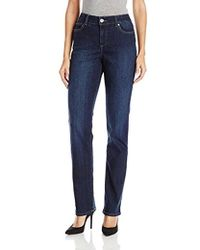 Bandolino - Mandie Signature Fit 5 Pocket Jean - Lyst