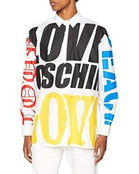 Love Moschino Hemd Bluse Chemise Casual Homme