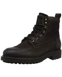 5941a6e56835b Coach Strapped Chelsea Biker Boot in Black for Men - Lyst