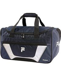 Lyst - Fila Baywood Medium Sports Duffel Bag Gym Bag in Blue for Men 51b3f7f790ddb
