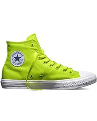 7d14082c893 Converse - Unisex Adults  Chuck Taylor All Star Ii Neon Basketball Shoes -  Lyst