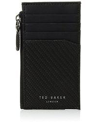 Ted Baker - Carbon Fibre Card Holder - Lyst