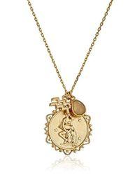 Tai - Zodiac Pendant Necklace - Lyst