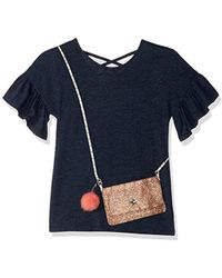 Jessica Simpson - Bell Sleeve Purse T-shirt - Lyst