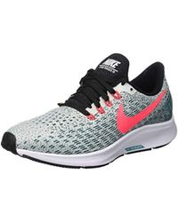 026e6d8a8b17 Nike Air Zoom Pegasus 35 Running Shoes in Blue - Lyst