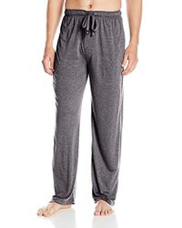 Izod - Rayon Poly Textured Knit Sleep Pant - Lyst