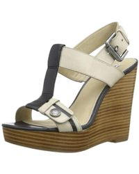 Calvin Klein - Ck Jeans Abril Shoes - Off White/ Black Multi-coloured Mehrfarbig (obk) Size: 7 - Lyst