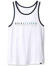 Quiksilver - Always Clean Tank T-shirt - Lyst