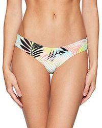 Rip Curl - Miami Vibes Cheeky Revo Hipster Bikini Bottom - Lyst