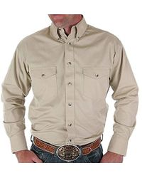 Wrangler - Big & Tall Painted Desert Long Sleeve Button Shirt - Lyst