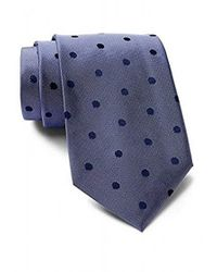 CALVIN KLEIN 205W39NYC - Satin Sheen Mini Dot Tie - Lyst