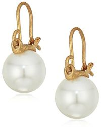 The Sak - Cap Pearl Drop Earrings - Lyst