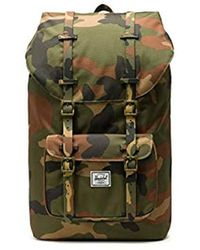 d203c853f22 Lyst - Herschel Supply Co. Little America Backpack - Woodland Camo ...