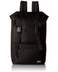 Lacoste - Neocroc Flap Backpack - Lyst
