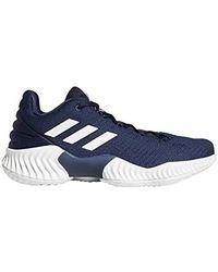 d9b512f0361e8 Lyst - adidas Originals Pro Bounce 2018 Basketball Shoe in Blue for Men