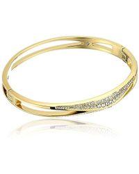 Michael Kors - Beyond Brilliant Unique -tone Bangle Bracelet - Lyst