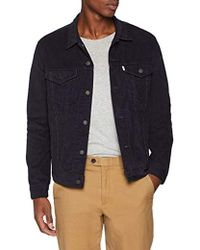 Levi's - The Trucker Jacket Giacca in Jeans Uomo - Lyst