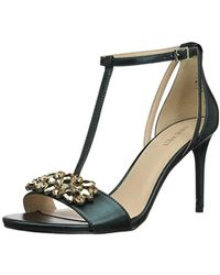 Nine West - Rumsey Synthetic Heeled Sandal - Lyst