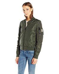 Madden Girl - Bomber Jacket - Lyst