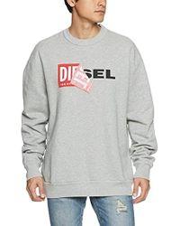 DIESEL - S- Samy, Sweat-Shirt Homme - Lyst
