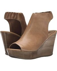 Kenneth Cole Reaction - Sole Chick Wedge Sandal - Lyst