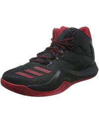 113f87140741 adidas D Rose 8 Basketball Shoes in Black for Men - Lyst