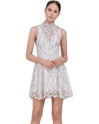 Keepsake - Keepsake Porcelain Lace Dress In Ivory - Lyst
