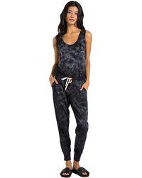 n:PHILANTHROPY - Opal Jumpsuit In Black Multi Tie Dye - Lyst