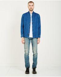 Denham - Mono Shirt Lrd - Indigo - Lyst