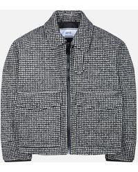 AMI - Zipped Jacket - Lyst