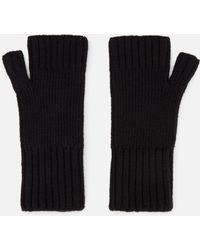 AMI - Fisherman's Rib Fingerless Gloves - Lyst