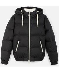 AMI - Hooded Down Jacket - Lyst