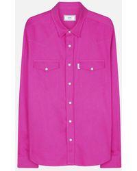 AMI | Press Button Ami Fit Shirt | Lyst