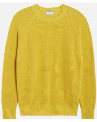 AMI - Raglan Sleeves Crewneck Sweater - Lyst