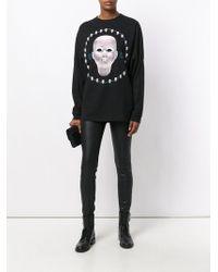 2fb1a282f0 R13 | Long Sleeve Doll Face T-shirt | Lyst