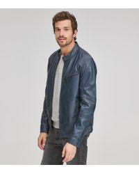 Andrew Marc - Men's Weston Moto-leather Jacket - Lyst