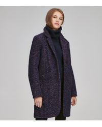 Andrew Marc - Windsor Wool Blazer Coat - Lyst
