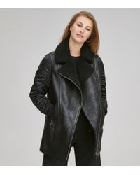 Andrew Marc - Tamryn Leather Moto Jacket - Lyst