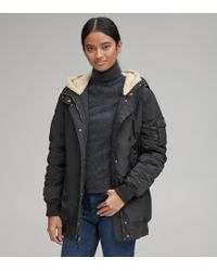 Andrew Marc - Nina Ruched Sleeve Bomber - Lyst