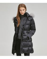 Andrew Marc - Leven Satin Down Jacket - Lyst