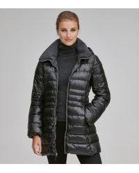 Andrew Marc - Erin Water Repellent Down Jacket - Lyst