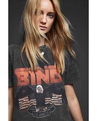 Anine Bing Vintage - Look Bing Tee - Black