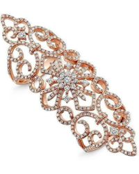 Anne Sisteron - 14kt Rose Gold Diamond Bourgeois Ring - Lyst