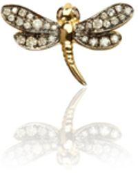 Annoushka - Love Diamonds Dragonfly Right Earring - Lyst