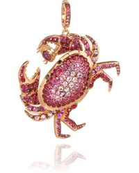 Annoushka - Mythology Crab Pendant - Lyst