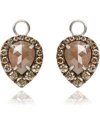 Annoushka - Unique Diamond Earring Drops - Lyst