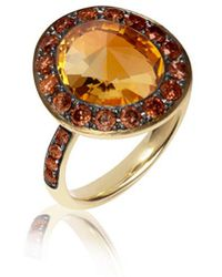 Annoushka - Dusty Diamonds Citrine Ring - Lyst